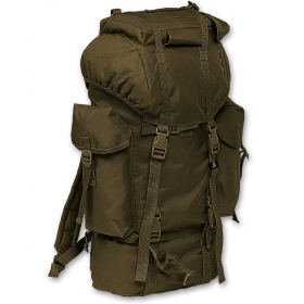 Nylon rucksack khaki