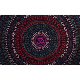"\""Ohm Circle\"" hanging, Purple"
