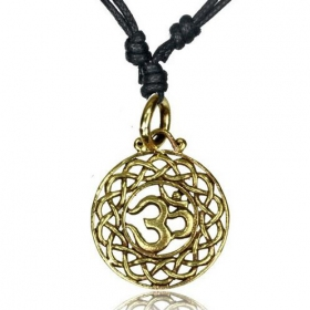"\""Ohm Devak\\\"" necklace"