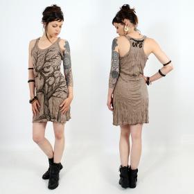 "\\\""Ohm tree\\\"" dress, Light brown"