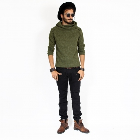 """Özz\"" sweater top, Khaki"