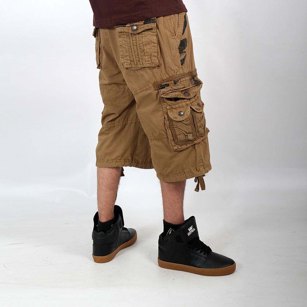 "Pantalón corto \""Bayok\"", Mostaza"
