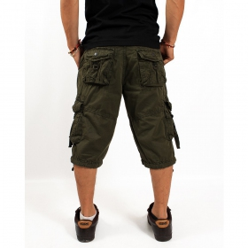 "Pantalón corto \""Bayok\"", Verde caqui"