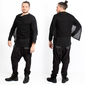 "Pantalón sarouel \""Ifarit\"", Negro"