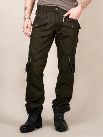 "Pantalones \""Alternative\"", Verde oliva oscuro"