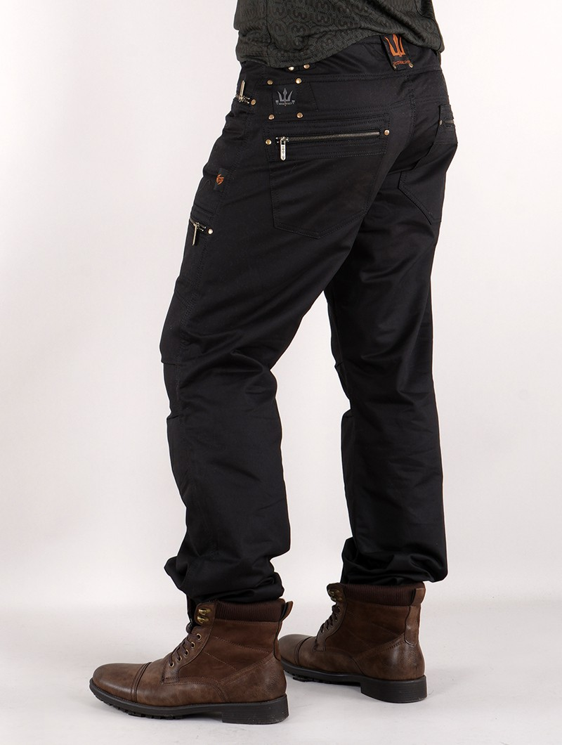 "Pantalones \""Daak\"", Negro"