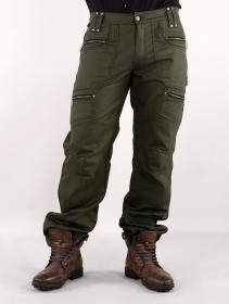 "Pantalones \""Daak\"", Verde caqui oscuro"