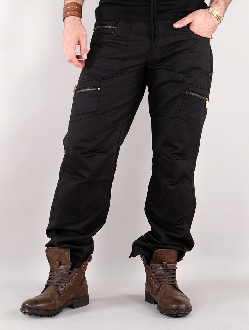 "Pantalones \""Omnix\"", Negro"