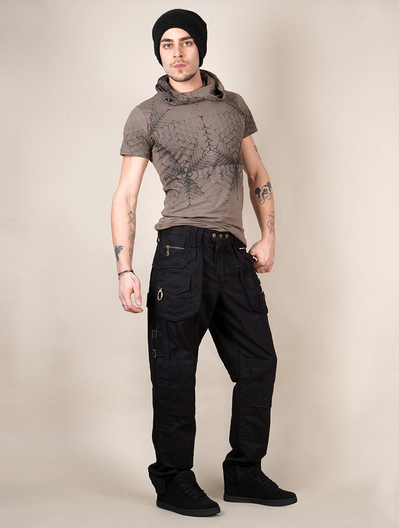 "Pantalones \""Sherlock\"", Negro"