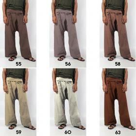 """Pantalones anchos \""""Thaï\"""", en muchos colores"""