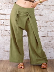 "Pantalones anchos unisex \""Thaï\"", en muchos colores"