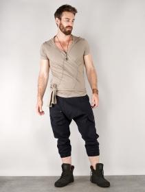"""Pantalones baggy 3/4 \""""Aqua\"""", Negro"""