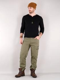 "Pantalones cargo \""Isildur\"", Verde oliva"