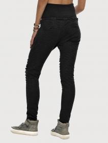 "Pantalones chándal \""Yugo\"", Negro"