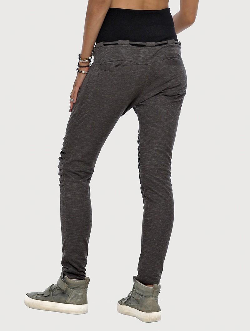 "Pantalones chándal Yugo\"", Gris oscuro jaspeado"