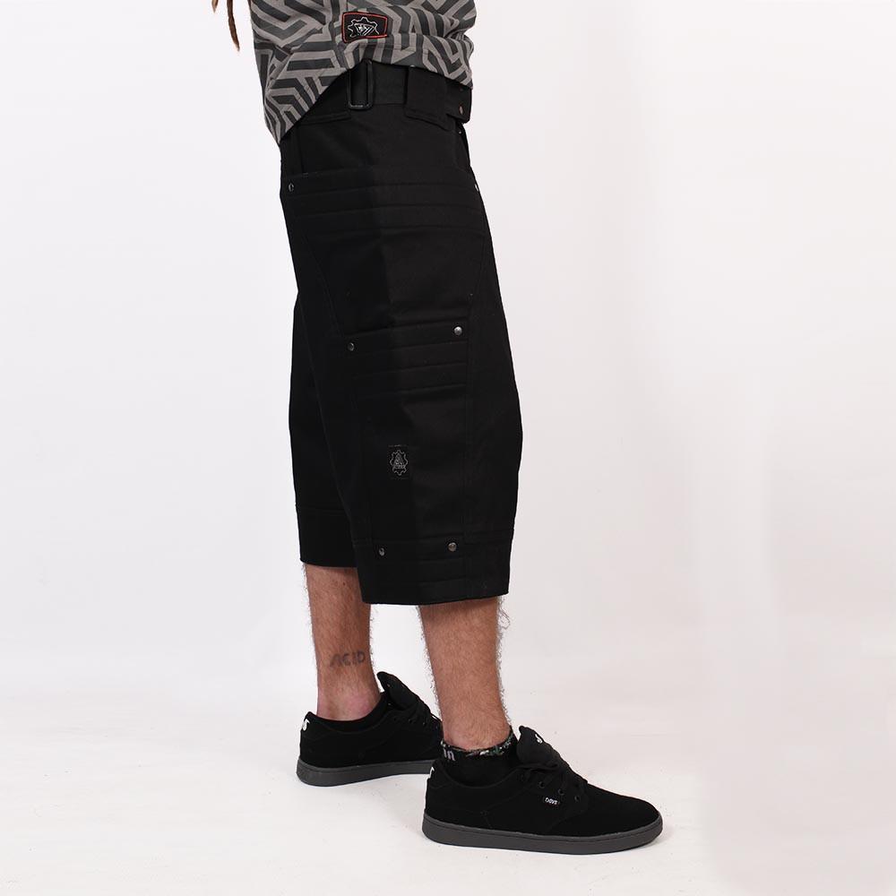 "Pantalones cortos \""Invader\"", Negro"
