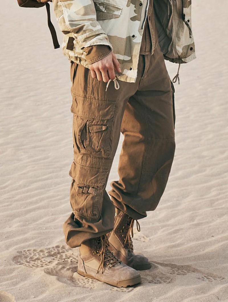 "Pantalones de combate \""Pure\"", Beige"