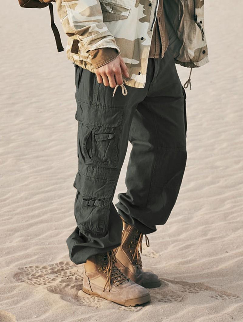 "Pantalones de combate \""Pure\"", Gris antracita"