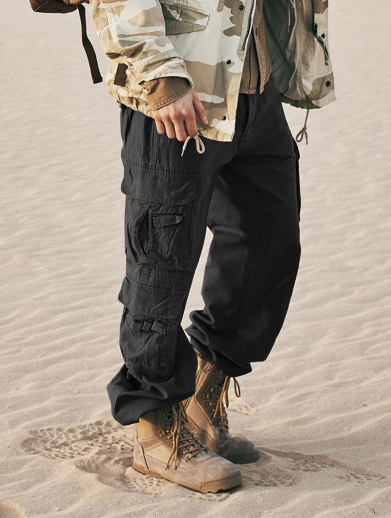 "Pantalones de combate \""Pure\"", Negros"