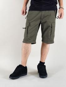 """Pantalones de combate 3en1 \""""Cargo Savannah\"""", Verde caqui"""