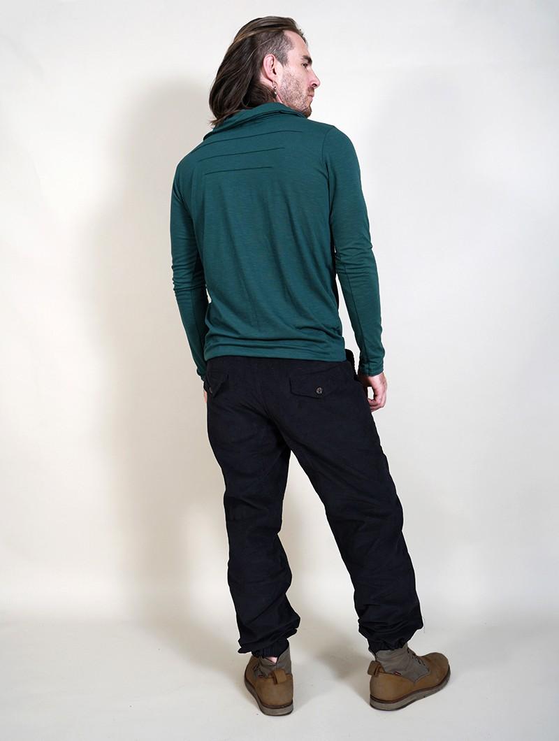"""Pantalones de pana \""""Soneeya\"""", Negro"""