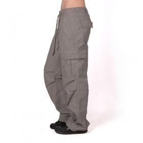 Pantalones holgados Molecule para mujeres, Gris