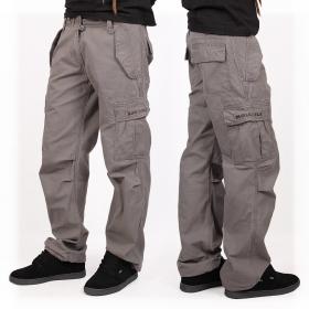 Pantalones holgados Molecule unisex, Gris