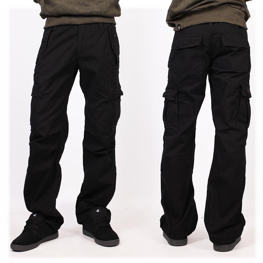 Pantalones holgados Molecule unisex, Negro
