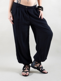 "Pantalones inflados \""Bagheerah\"", Negro"