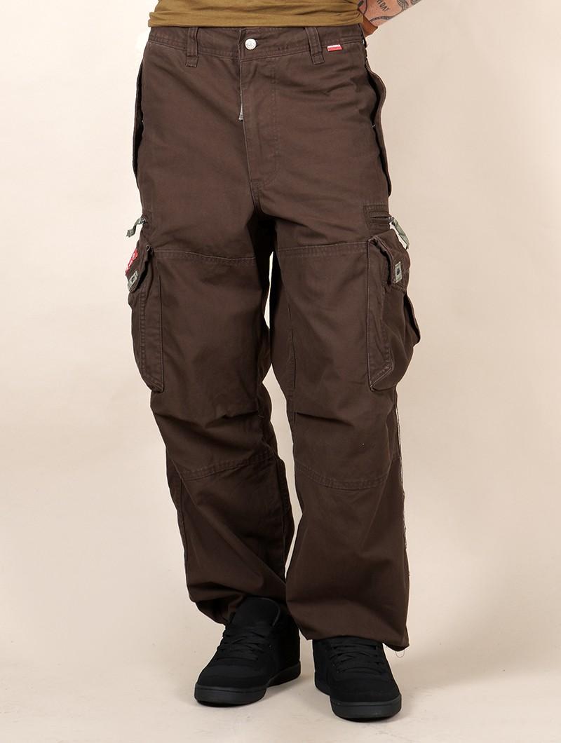 Pantalones Molecule 45019, marrones