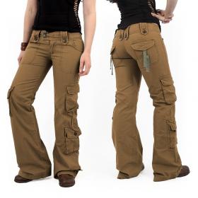 Pantalones Molecule 45062, Marrón claro