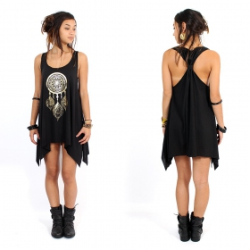""\\""""Peacock dreamcatcher\"""" knotted tunic, Black and gold""280|280|?|en|2|3ae8c8182037ebc5f09b20765fa11655|False|UNLIKELY|0.3317560851573944