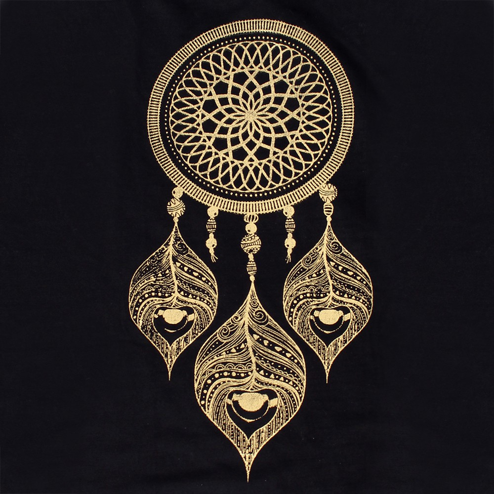 ""\""""Peacock dreamcatcher"""" knotted tunic, Black and gold""1000|1000|?|en|2|97cbbdc0a704bd697dd54d987607cda2|False|UNLIKELY|0.2835196554660797