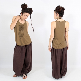 ""\\""""Peacock dreamcatcher\"""" tank top, Brown and black""280|280|?|en|2|52fbf05d7986d34b828ddf9fafd52d30|False|UNLIKELY|0.33059853315353394