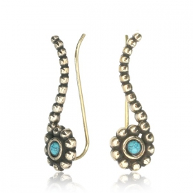 "Pendientes ""Zilal Turquoise\"""