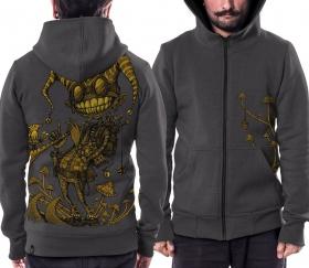 PlazmaLab zipped hoodie \\\