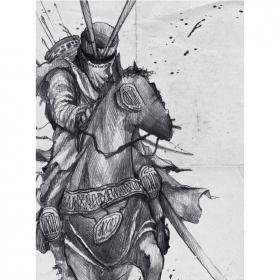 "Póster \""Knight\"""
