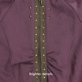 """Prophecy\"" coat, Grape"