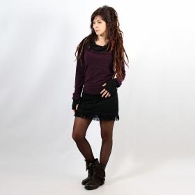 "Pullover Witch \""Janjira\"", Purple black"