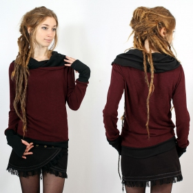 "Pullover Witch ""Janjira\"", Wine black"