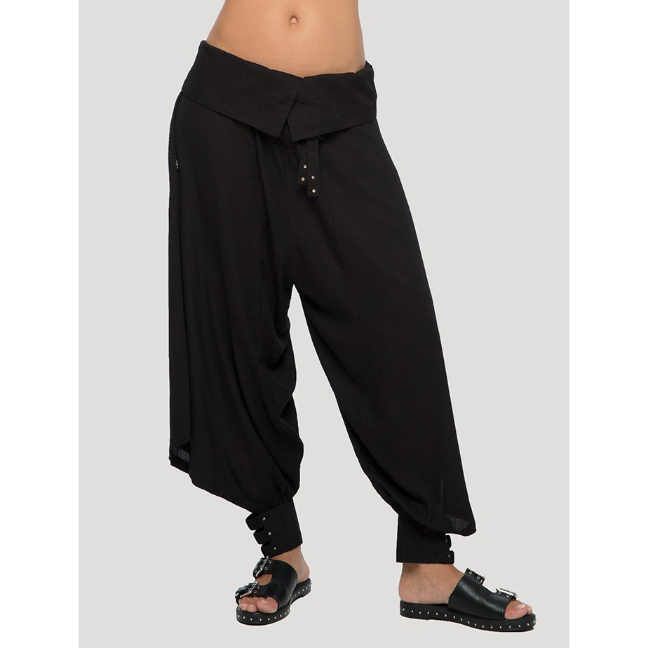 """Ray\"" Harem pants, Black"
