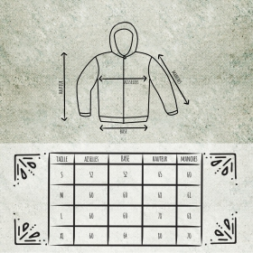 "Roundhood jacket GadoGado \\\""Nibiru Taua\\\"", Khaki"