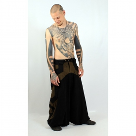 "Sarouel high clothing \""fakir\\\"", black-brown"