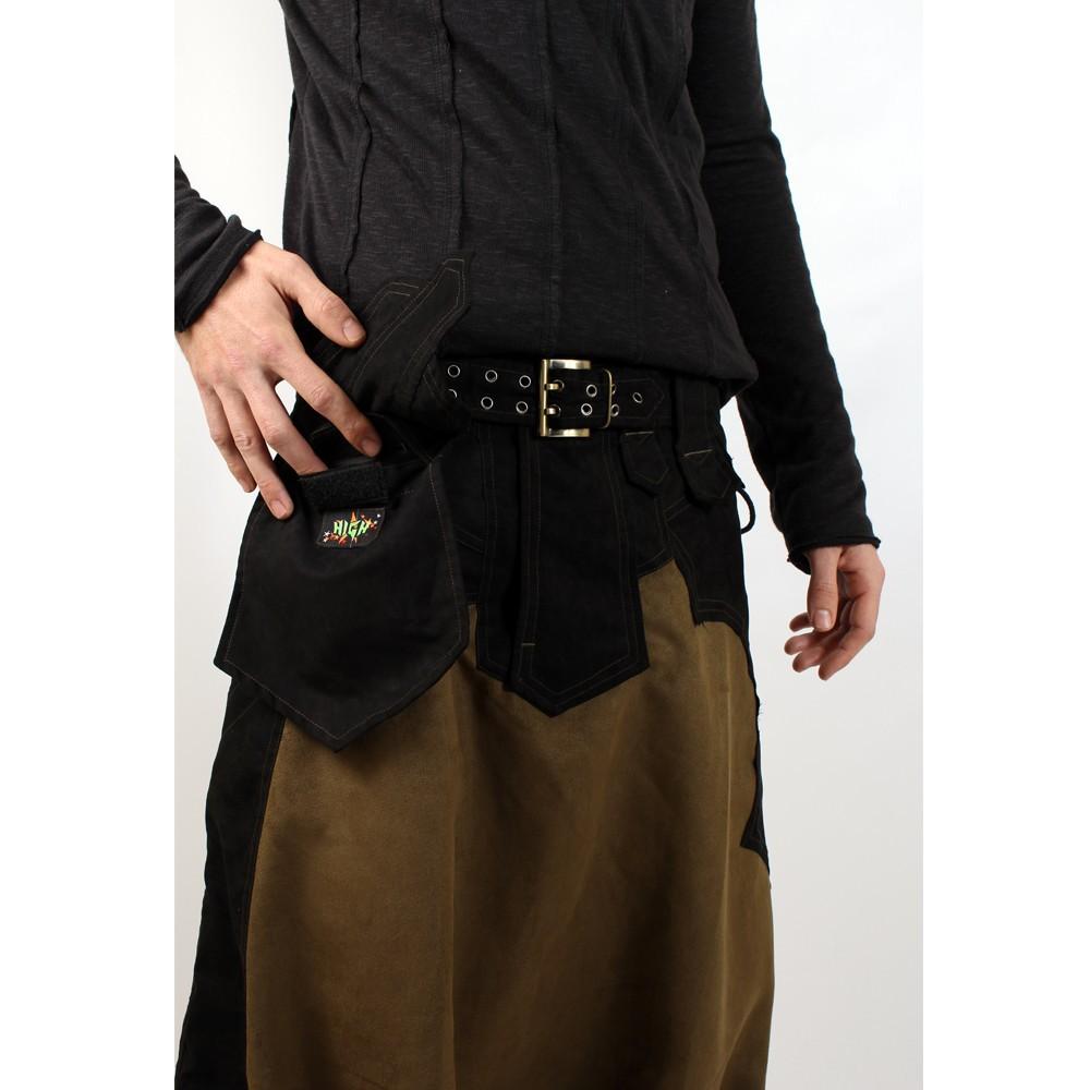 "Sarouel high clothing \\\""sumerian\\\"", khaki-black"