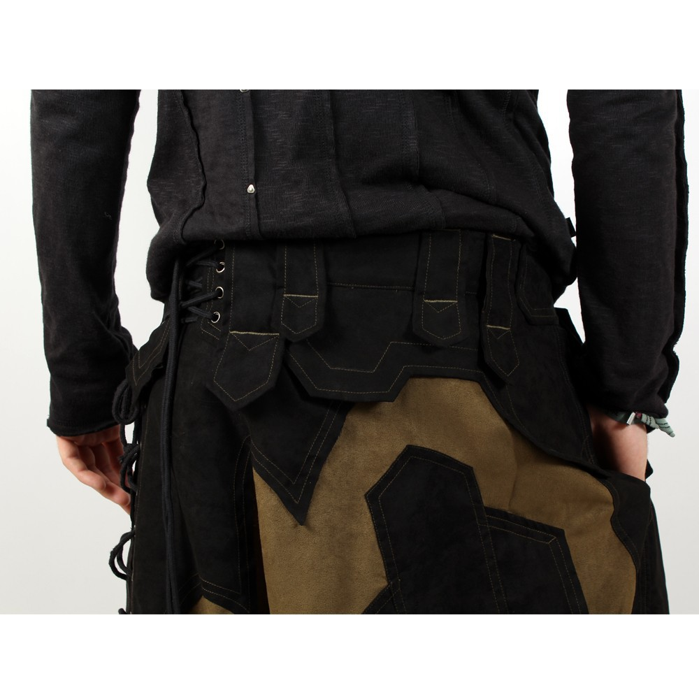 "Sarouel high clothing \""sumerian\\\"", khaki-black"