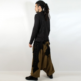 "Sarouel high clothing ""sumerian\"", khaki-black"