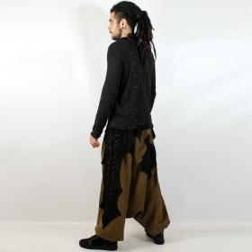 "Sarouel high clothing \""sumerian\"", khaki-black"