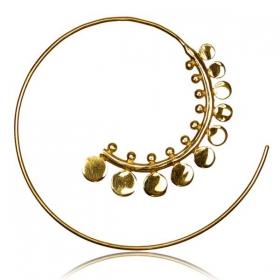 "\\\""Shigeo\\\"" Brass ear jewel"