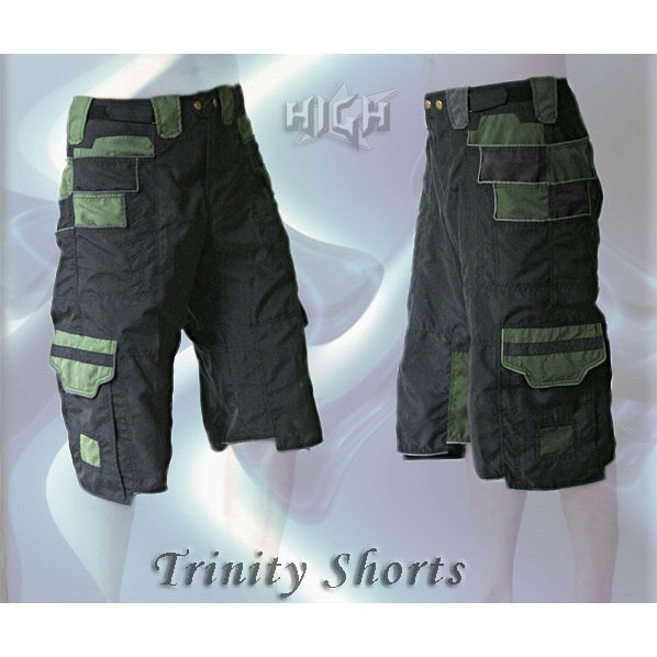 """Short \\\""""trinity\\\"""", kaki - darkolive"""