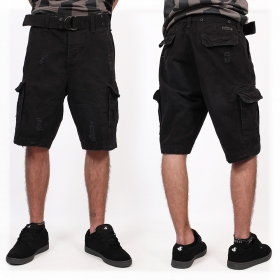 "Short cargo ""Shell Valley\"", Negro"